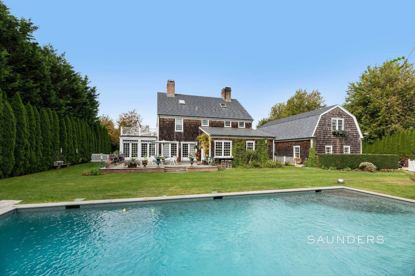 3. Single Family Homes at Estate Level Elegance At The Nowedonah House 631 Head Of The Pond Road, Water Mill, Southampton Town, NY 11976