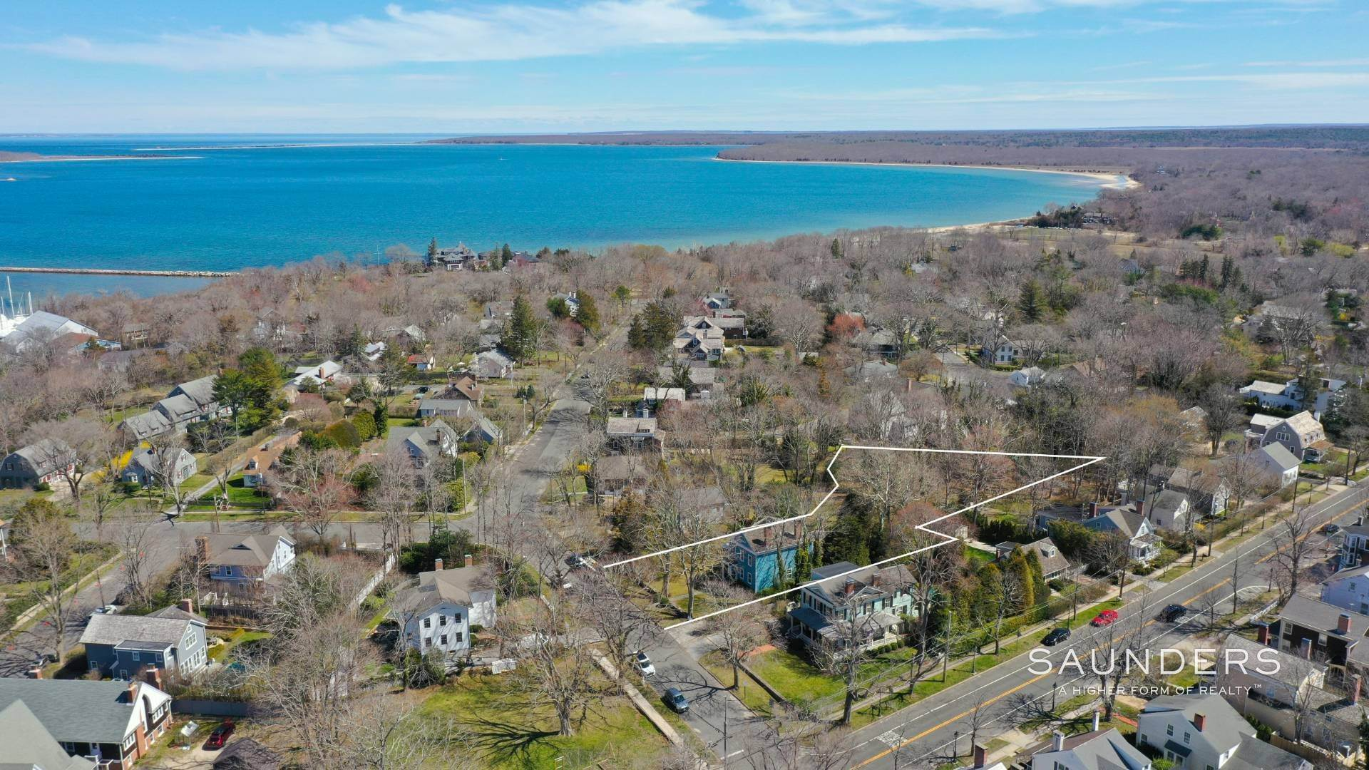 Single Family Homes for Sale at Historic District Offering 10 High Street, Sag Harbor, Southampton Town, NY 11963