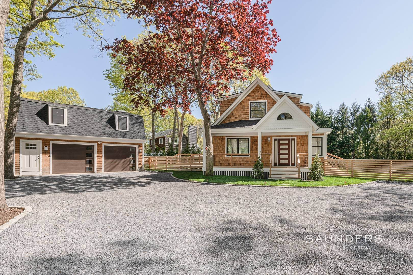 3. Single Family Homes for Sale at Southampton New Renovation Near Village With Heated Gunite Pool 9 West Neck Road, Southampton, Southampton Town, NY 11968