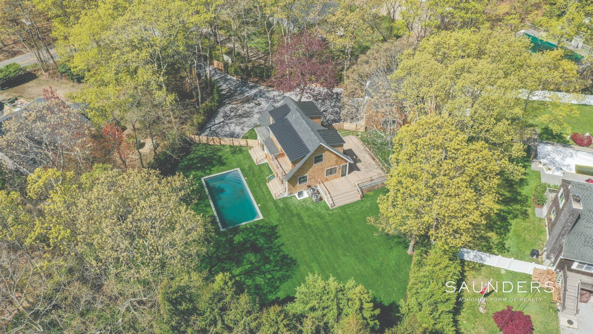 Single Family Homes for Sale at Southampton New Renovation Near Village With Heated Gunite Pool 9 West Neck Road, Southampton, Southampton Town, NY 11968