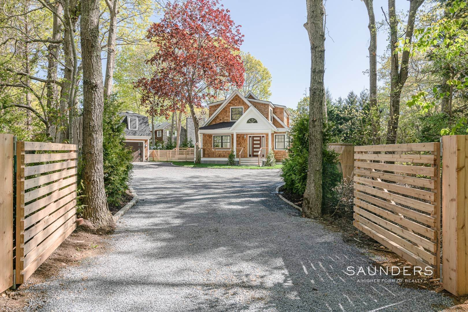 2. Single Family Homes for Sale at Southampton New Renovation Near Village With Heated Gunite Pool 9 West Neck Road, Southampton, Southampton Town, NY 11968