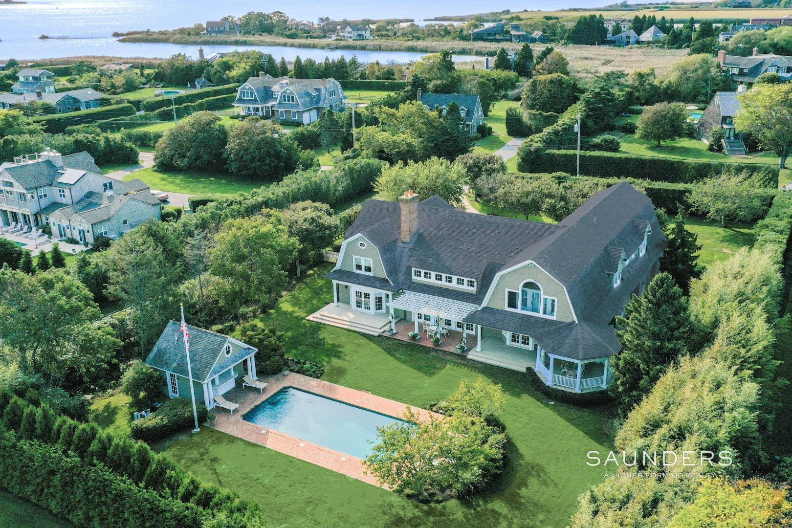 Single Family Homes for Sale at Fabulous Bridgehampton Estate Near Ocean Beaches 403 Jobs Lane, Bridgehampton, Southampton Town, NY 11976