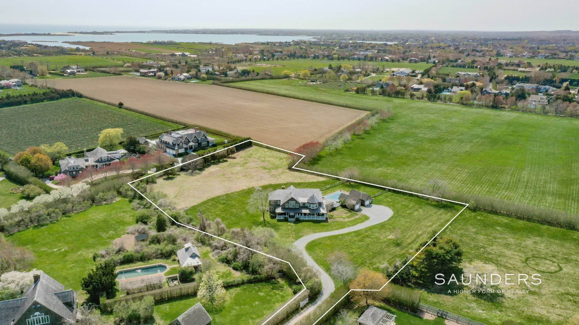 26. Single Family Homes for Sale at Prestigious Ocean Road 770 Ocean Road, Bridgehampton, Southampton Town, NY 11932