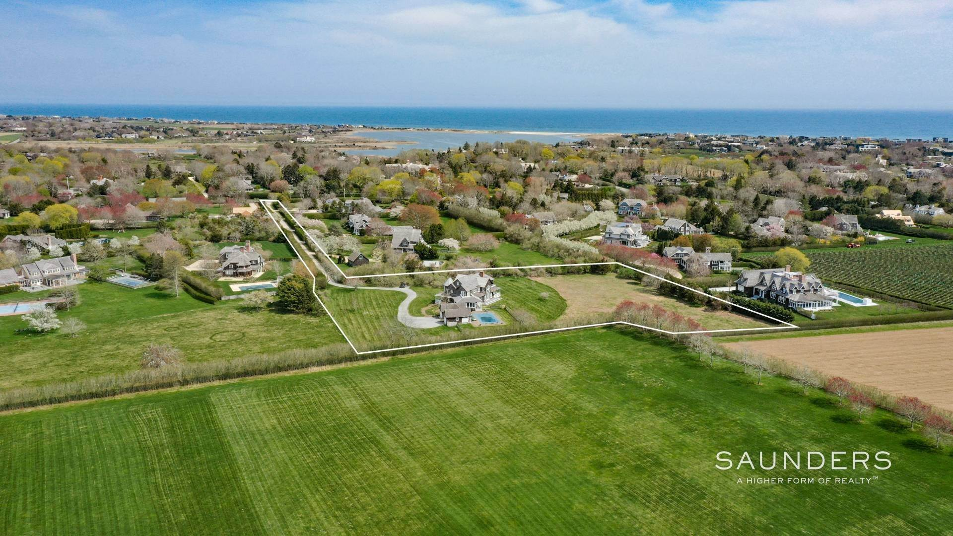 Single Family Homes for Sale at Prestigious Ocean Road 770 Ocean Road, Bridgehampton, Southampton Town, NY 11932