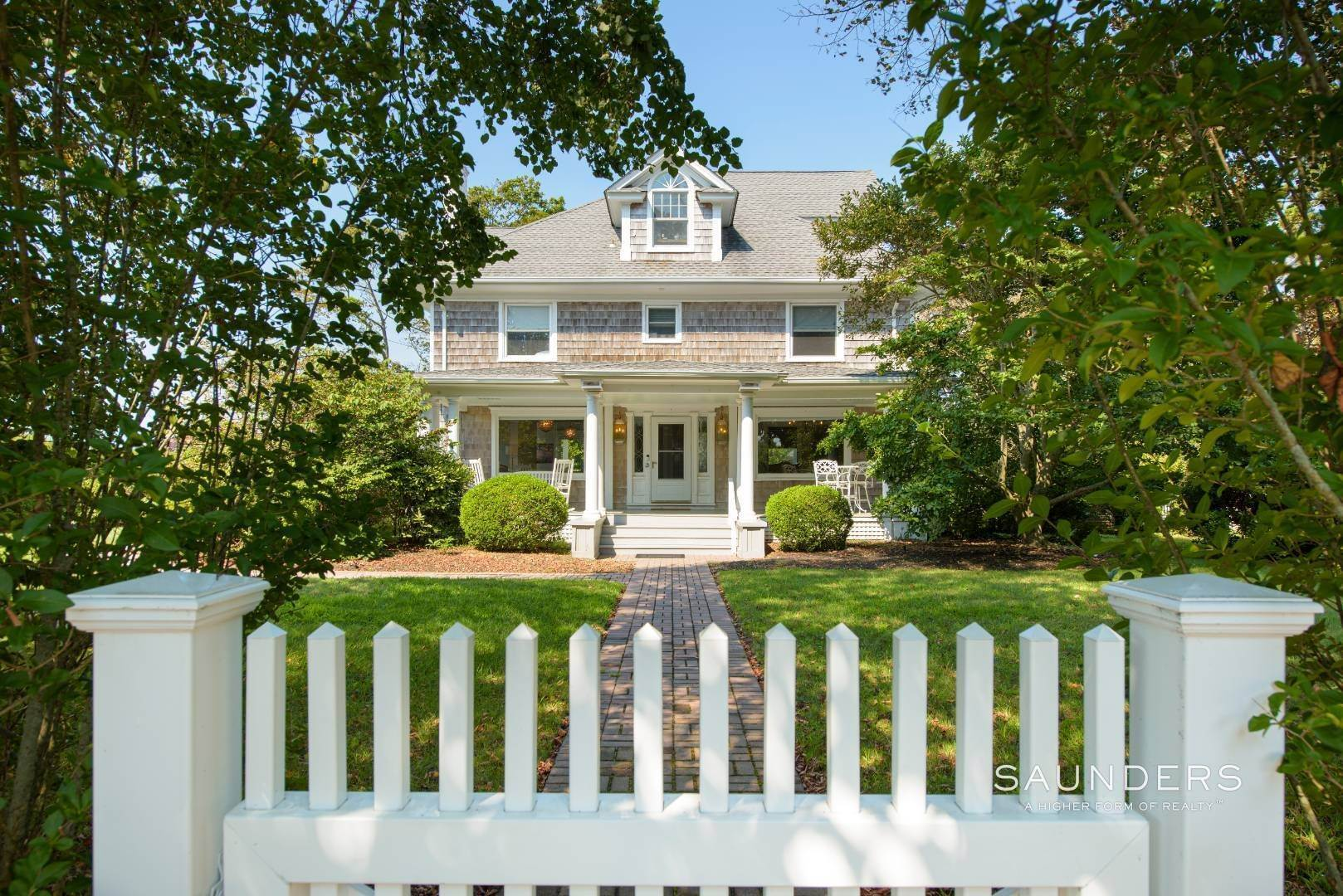 Single Family Homes for Sale at Magnificence With History In The Village 91 Potunk Lane, Westhampton Beach Village, Southampton Town, NY 11978