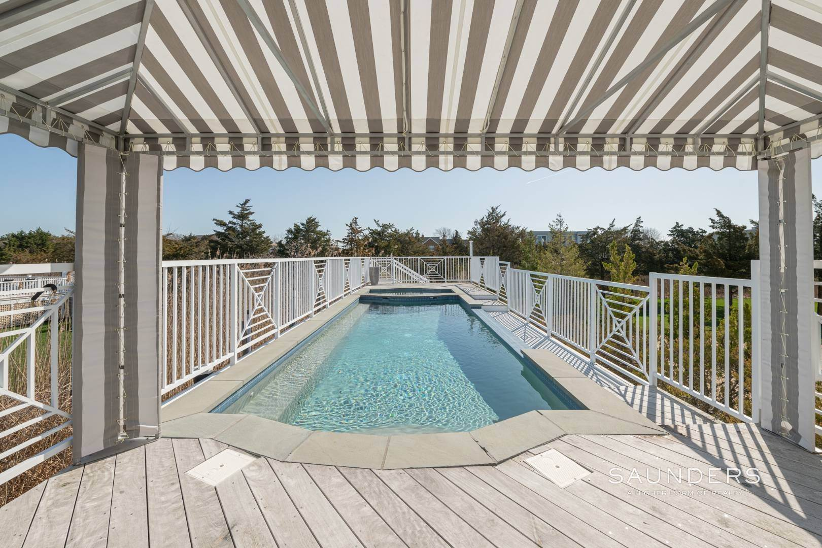 7. Single Family Homes for Sale at Celebrate Nature's Beauty: Sunsets, Water Views, Pool & Dock 5 Bay Meadow Lane, Westhampton, Southampton Town, NY 11977