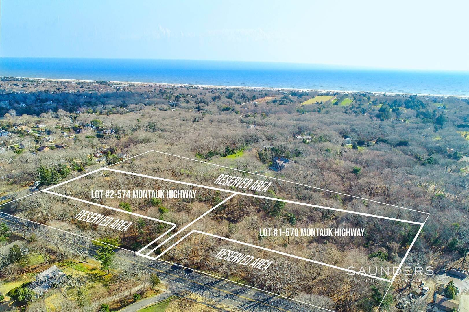Land for Sale at Build South Of The Highway 570 & 574 Montauk Highway, Amagansett, East Hampton Town, NY 11937