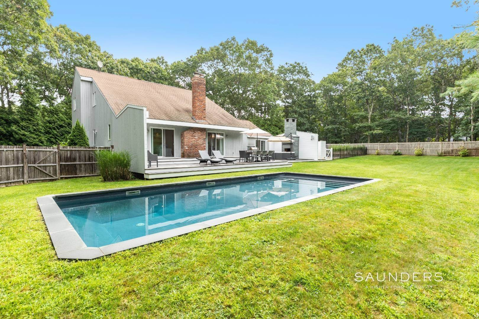 Single Family Homes for Sale at Modern Saltbox In Wainscott 1 Red Fox Lane, Wainscott, East Hampton Town, NY 11937