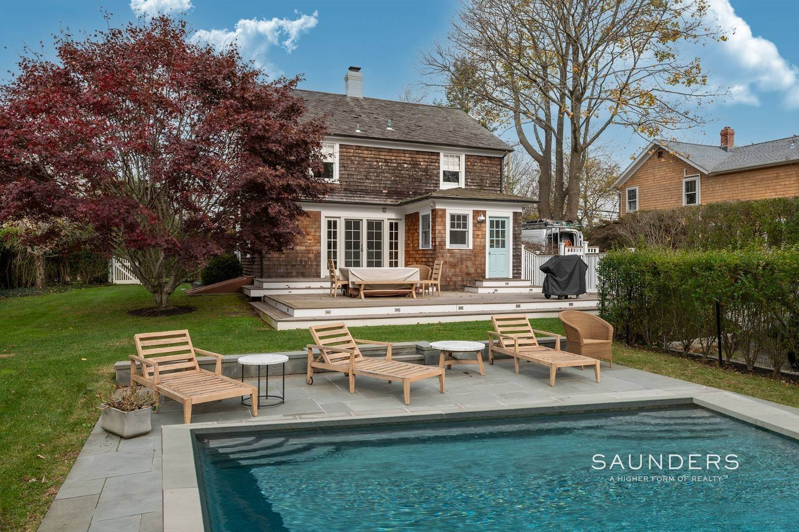25. Single Family Homes for Sale at Southampton Village Renovation With Pool 74 Prospect Street, Southampton, Southampton Town, NY 11968