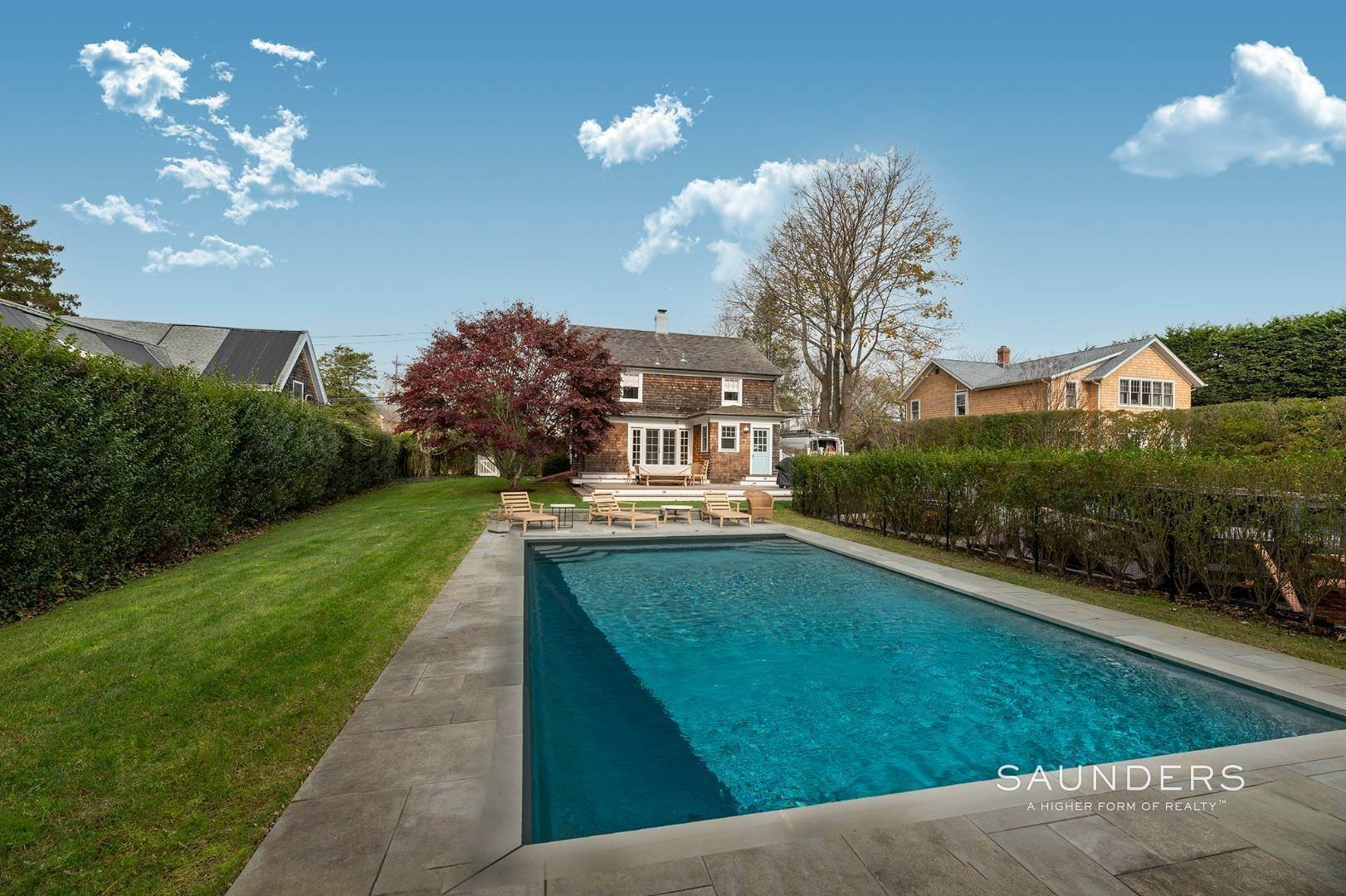 24. Single Family Homes for Sale at Southampton Village Renovation With Pool 74 Prospect Street, Southampton, Southampton Town, NY 11968