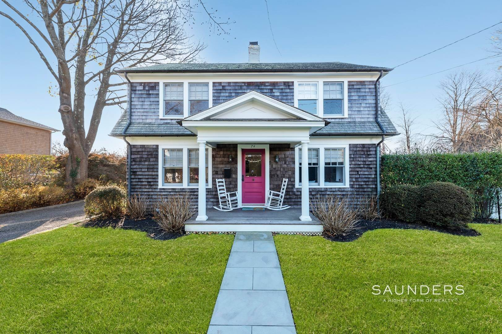 Single Family Homes for Sale at Southampton Village Renovation With Pool 74 Prospect Street, Southampton, Southampton Town, NY 11968