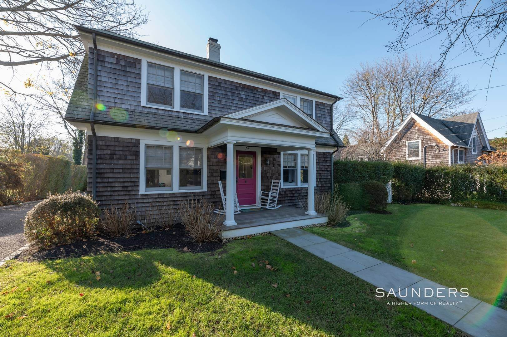2. Single Family Homes for Sale at Southampton Village Renovation With Pool 74 Prospect Street, Southampton, Southampton Town, NY 11968