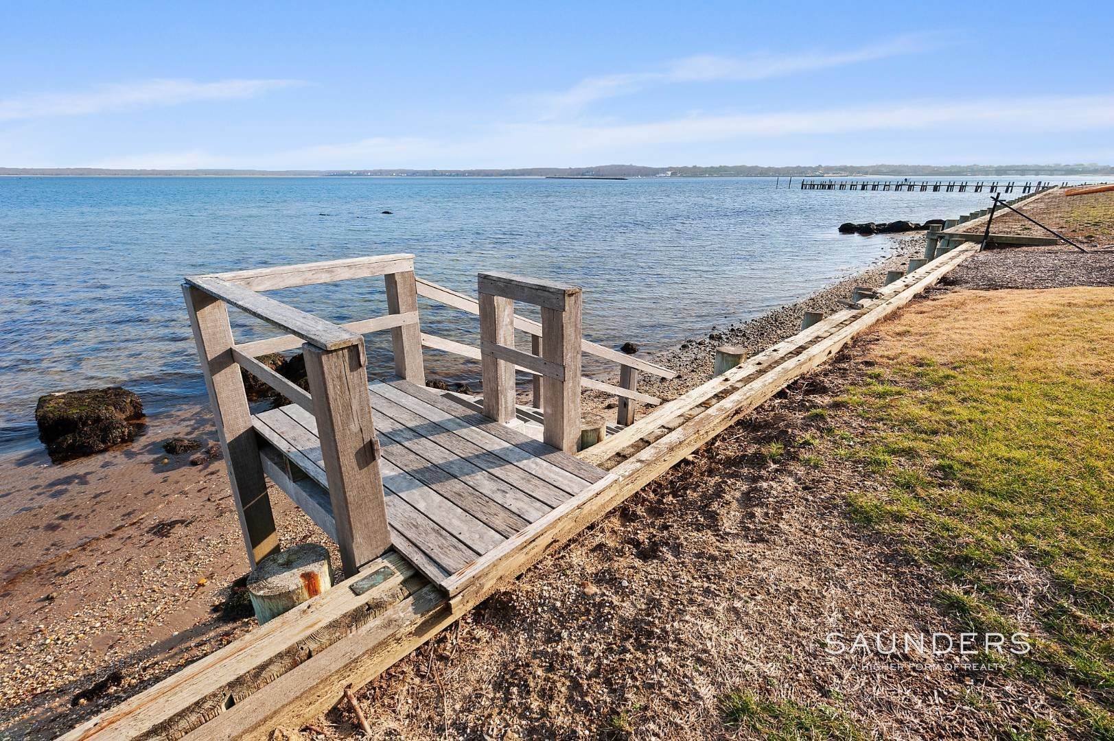 29. Single Family Homes for Sale at Waterfront Architectural Dream 28 East Harbor Drive, Sag Harbor, Southampton Town, NY 11963