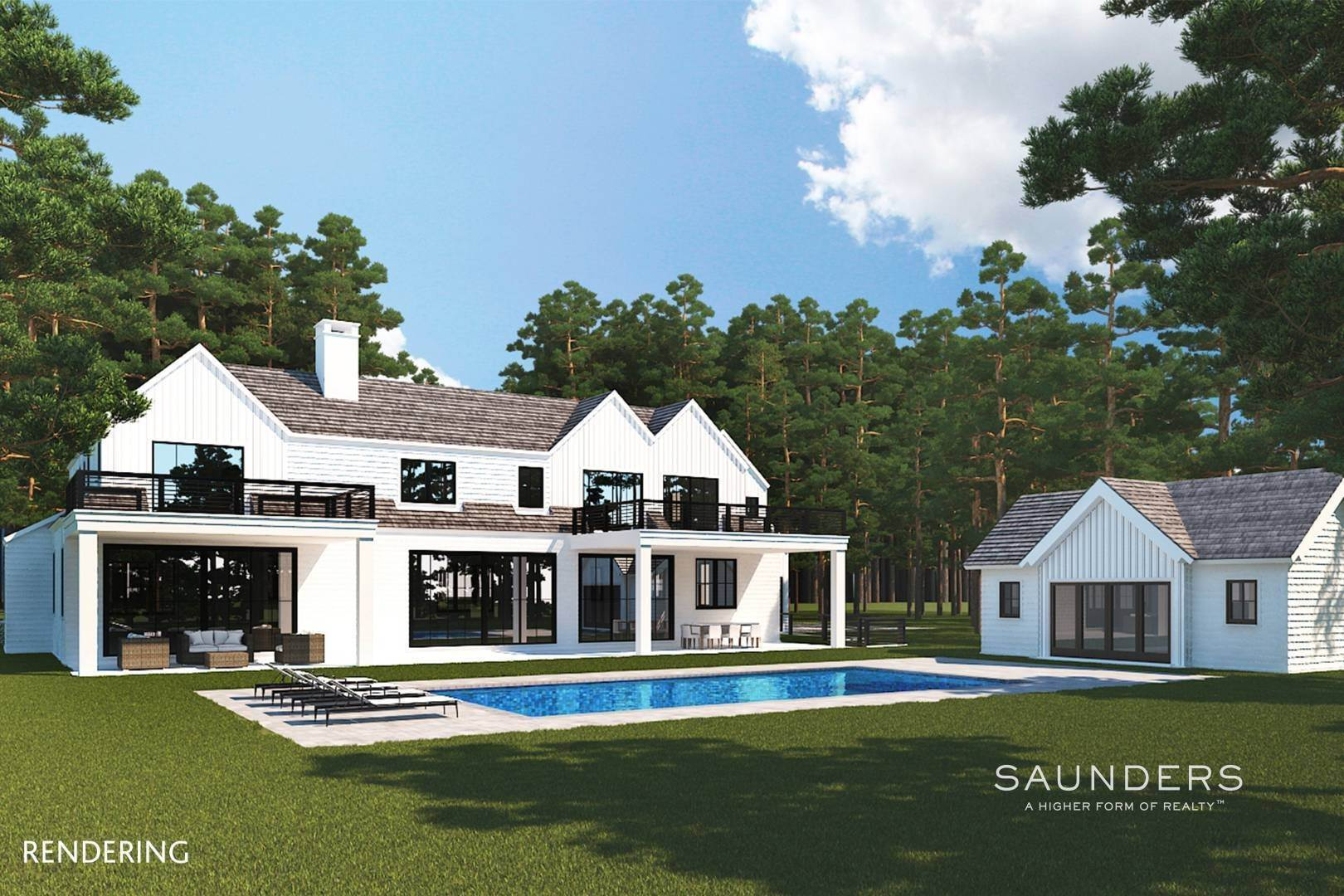2. Single Family Homes for Sale at Sagaponack Opportunity - Build Your Dream Home 363 Wainscott Harbor Road, Sagaponack, Southampton Town, NY 11968