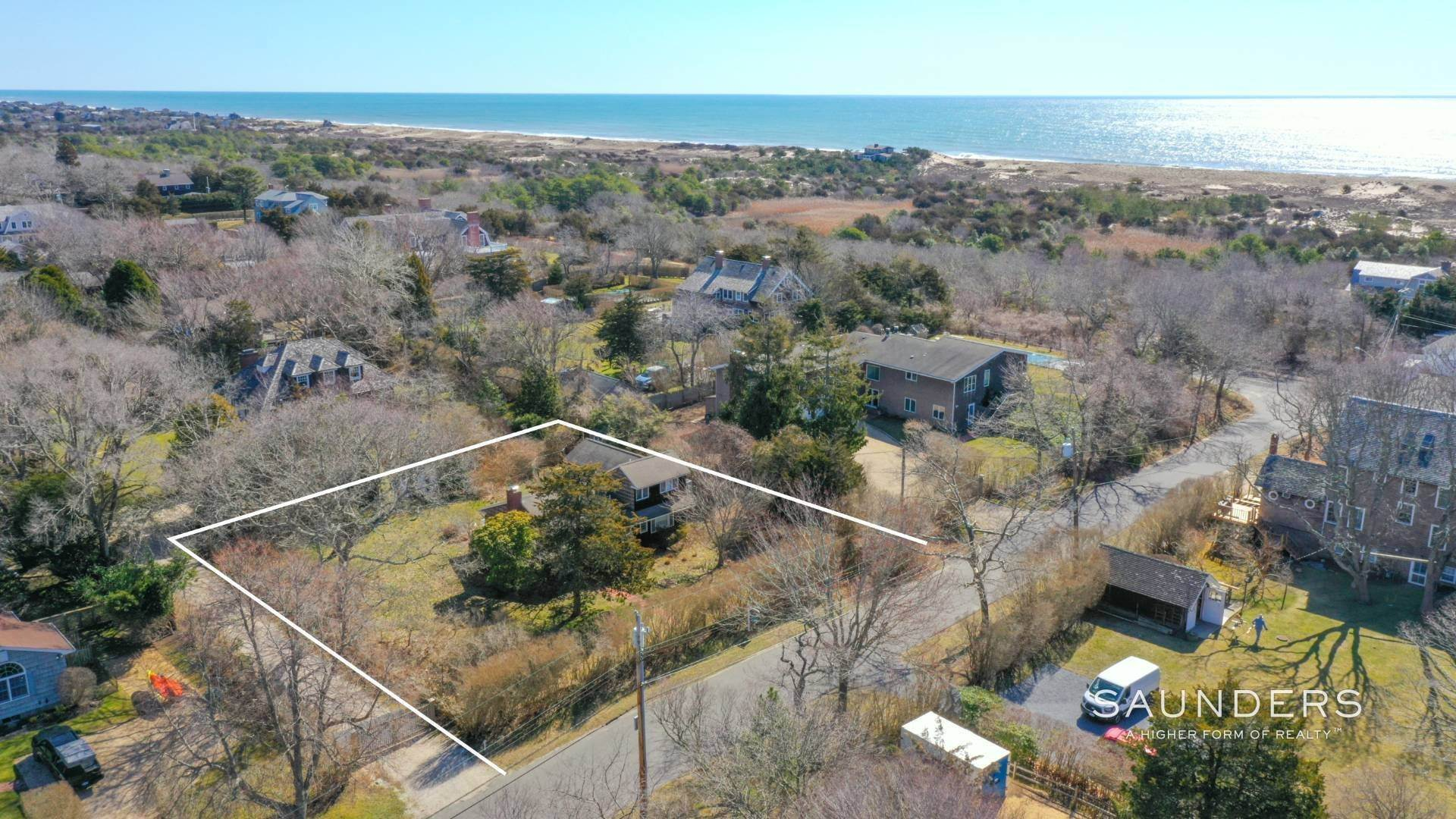 Single Family Homes for Sale at Amagansett Lanes Near Bluff Road 121 Hedges Lane, Amagansett, East Hampton Town, NY 11930