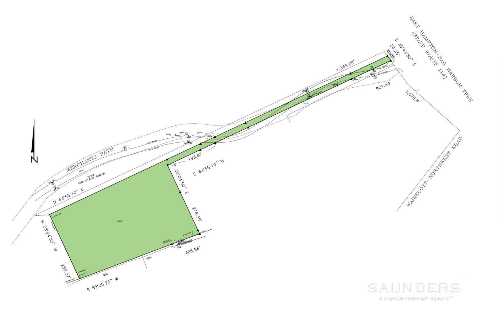 Land for Sale at Sag Harbor Land Opportunity 105 Merchants Path, Southampton Town, NY 11963