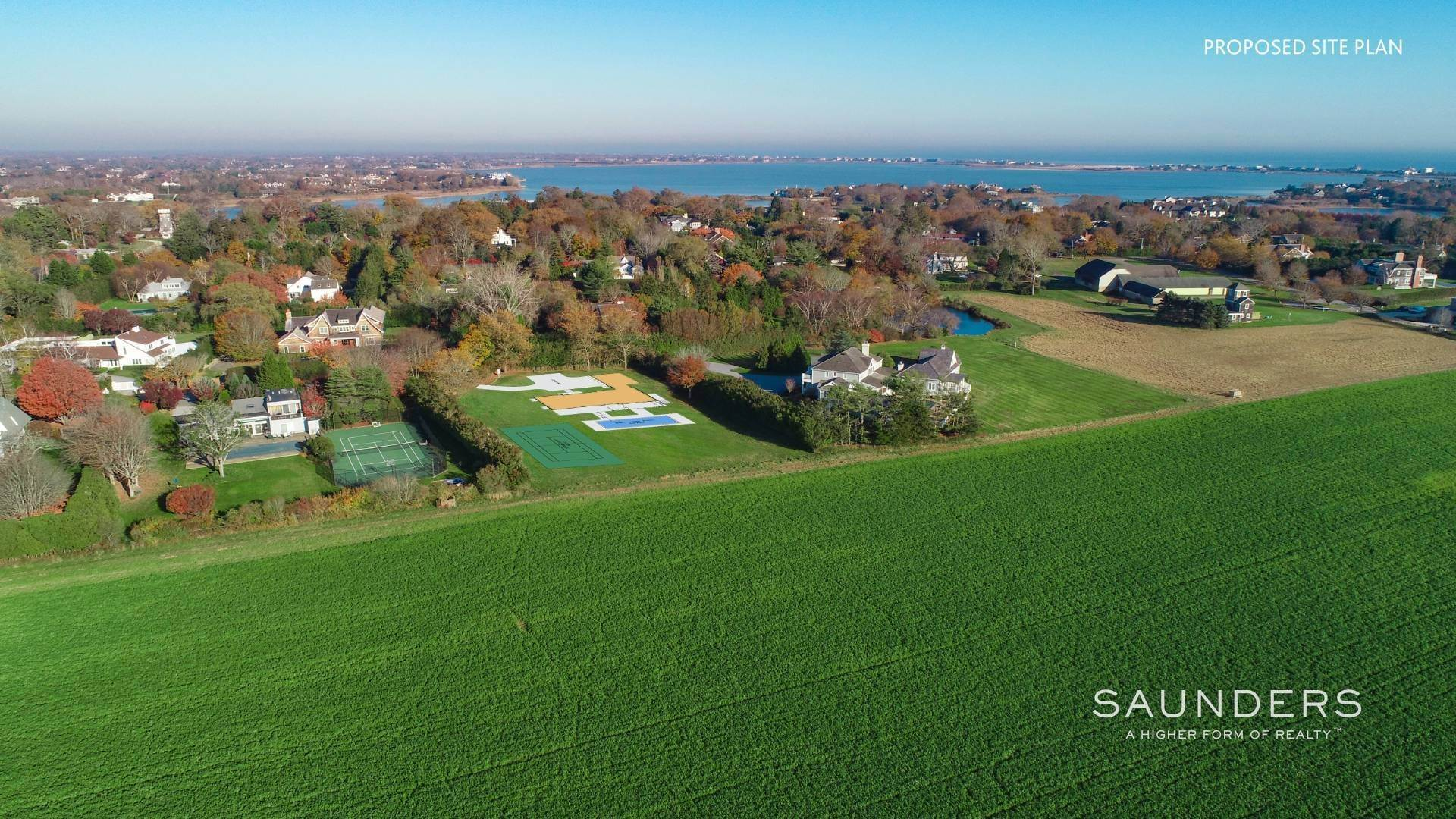 Single Family Homes for Sale at New Construction - Water Mill South - Pool, Tennis, On Reserve 37 Potato Barn Road, Water Mill, Southampton Town, NY 11976