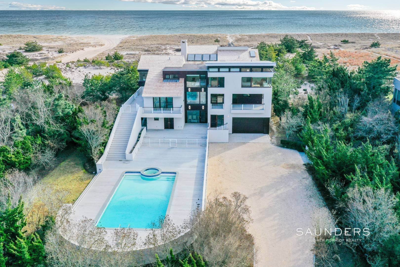 3. Single Family Homes for Sale at Meadow Lane Oceanfront On Three Levels 1950 Meadow Lane, Southampton, Southampton Town, NY 11968