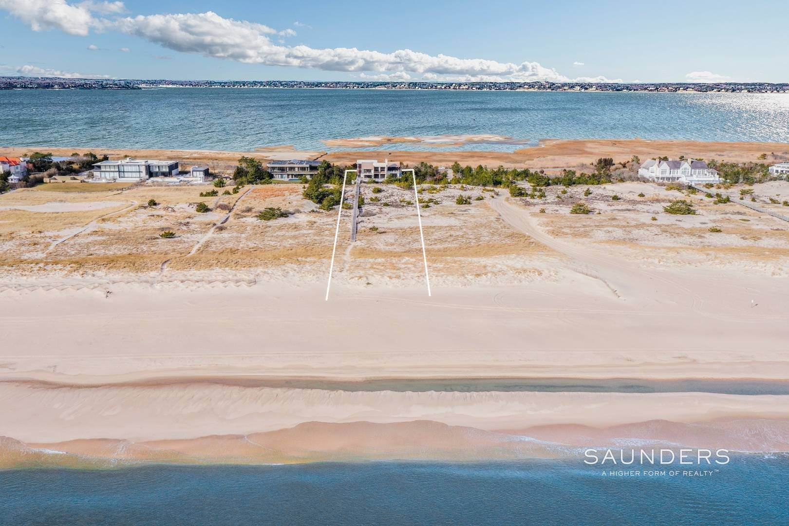 2. Single Family Homes for Sale at Meadow Lane Oceanfront On Three Levels 1950 Meadow Lane, Southampton, Southampton Town, NY 11968