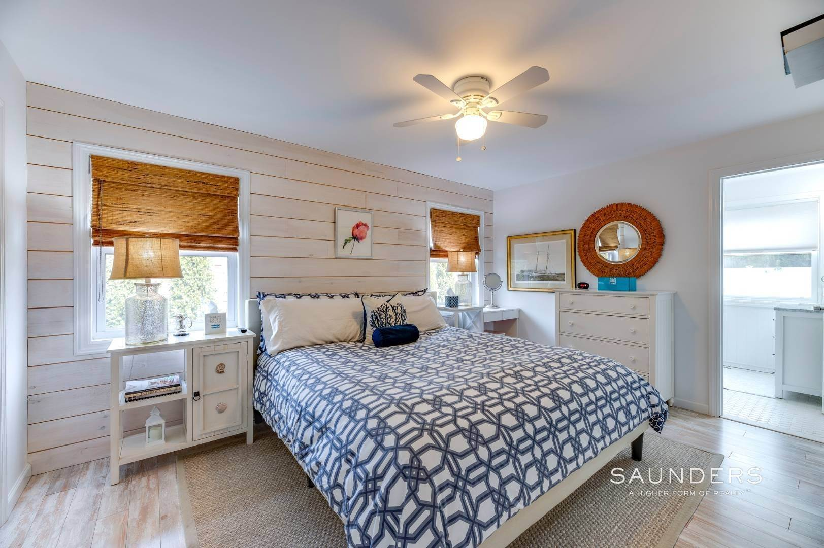 10. Single Family Homes for Sale at Chic Designer Cottage, Heated Pool, Near Bay, East Of Canal 9 Elizabeth Avenue, Hampton Bays, Southampton Town, NY 11946