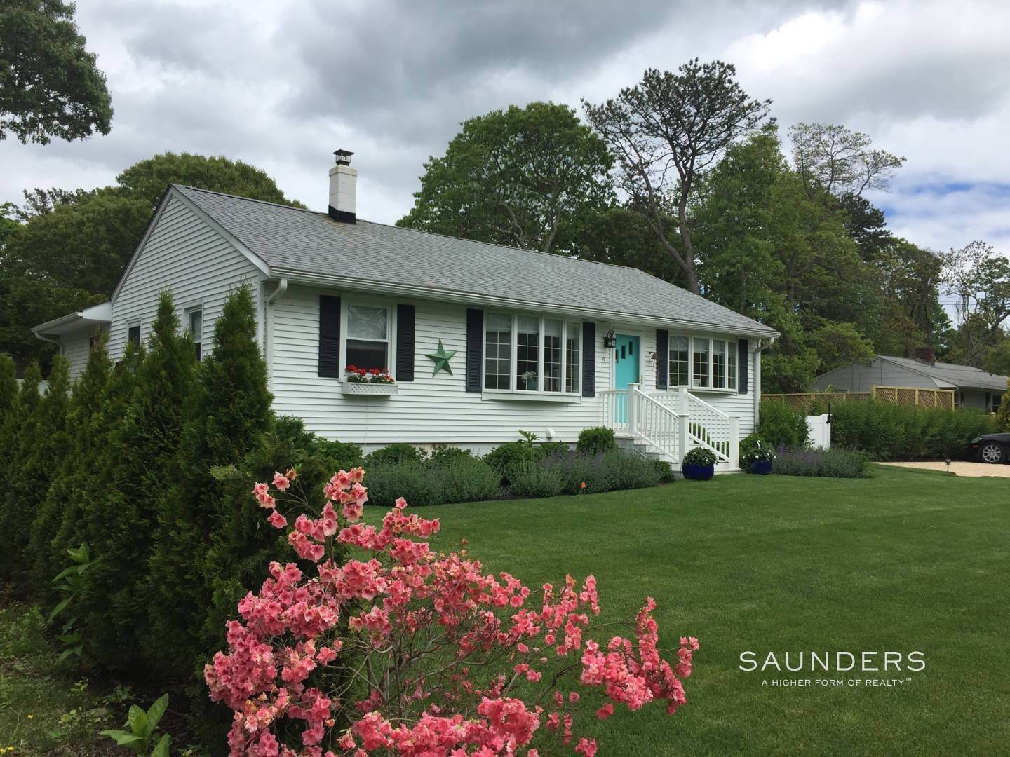 2. Single Family Homes for Sale at Chic Designer Cottage, Heated Pool, Near Bay, East Of Canal 9 Elizabeth Avenue, Hampton Bays, Southampton Town, NY 11946