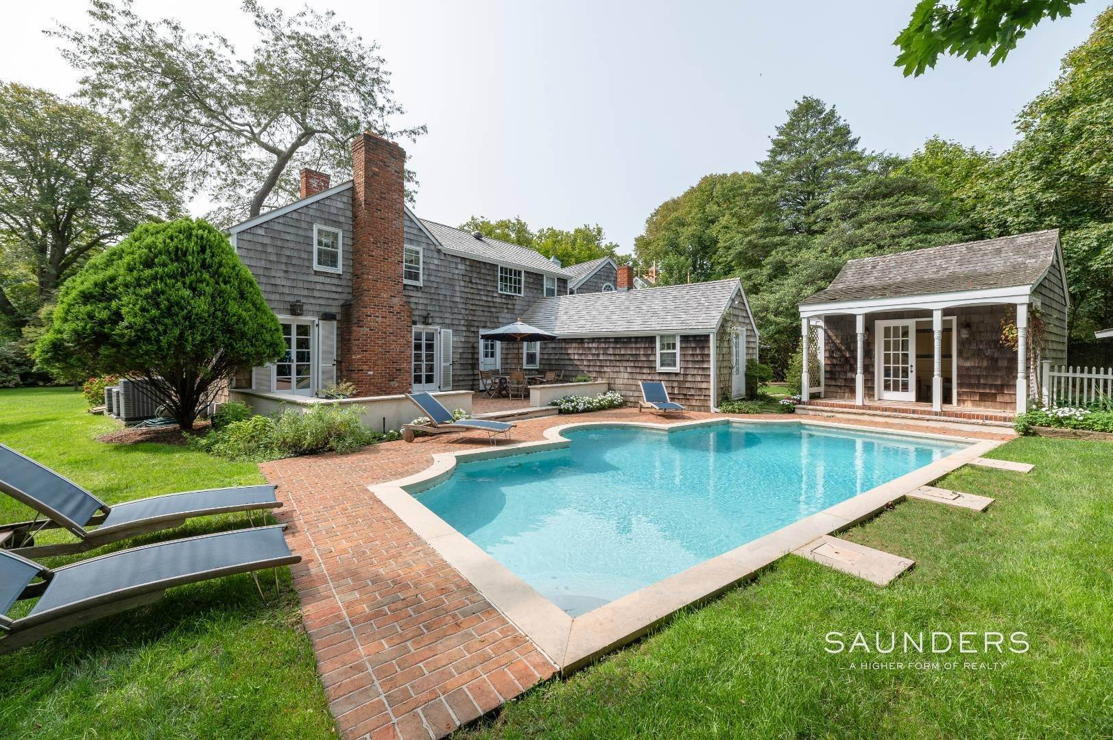 2. Single Family Homes for Sale at Classic Farmhouse In Southampton Village 519 Hill Street, Southampton, Southampton Town, NY 11968