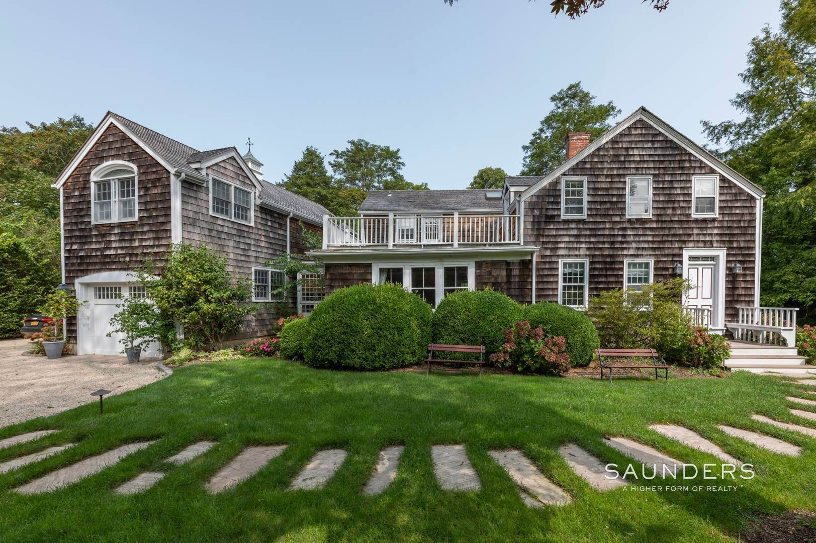 Single Family Homes for Sale at Classic Farmhouse In Southampton Village 519 Hill Street, Southampton, Southampton Town, NY 11968