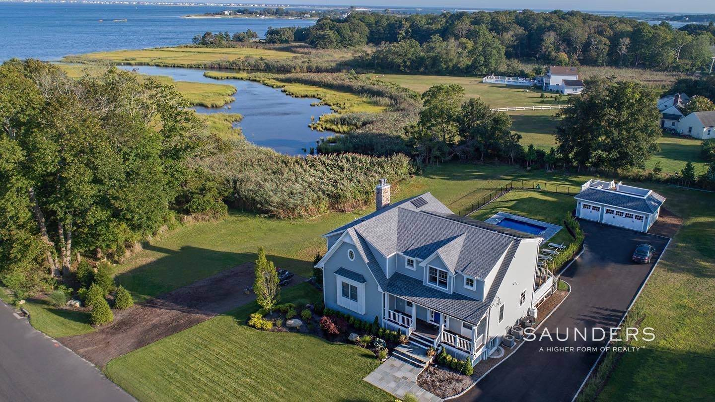 Single Family Homes for Sale at Mesmerizing Sunrise Water Views 14 Maple Avenue, East Moriches, Hamptons Fringe, NY 11940
