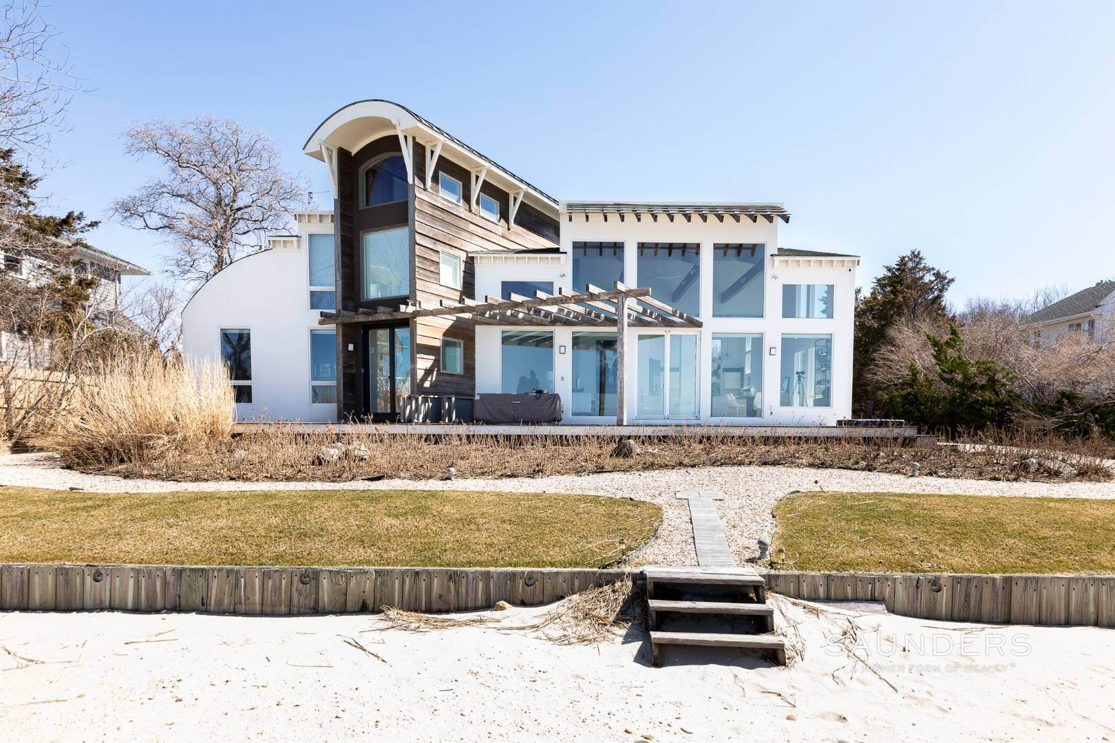 5. Single Family Homes at Walls Of Glass Looking Out To The Bay In Southampton 147 Edgemere Drive, Southampton, Southampton Town, NY 11968