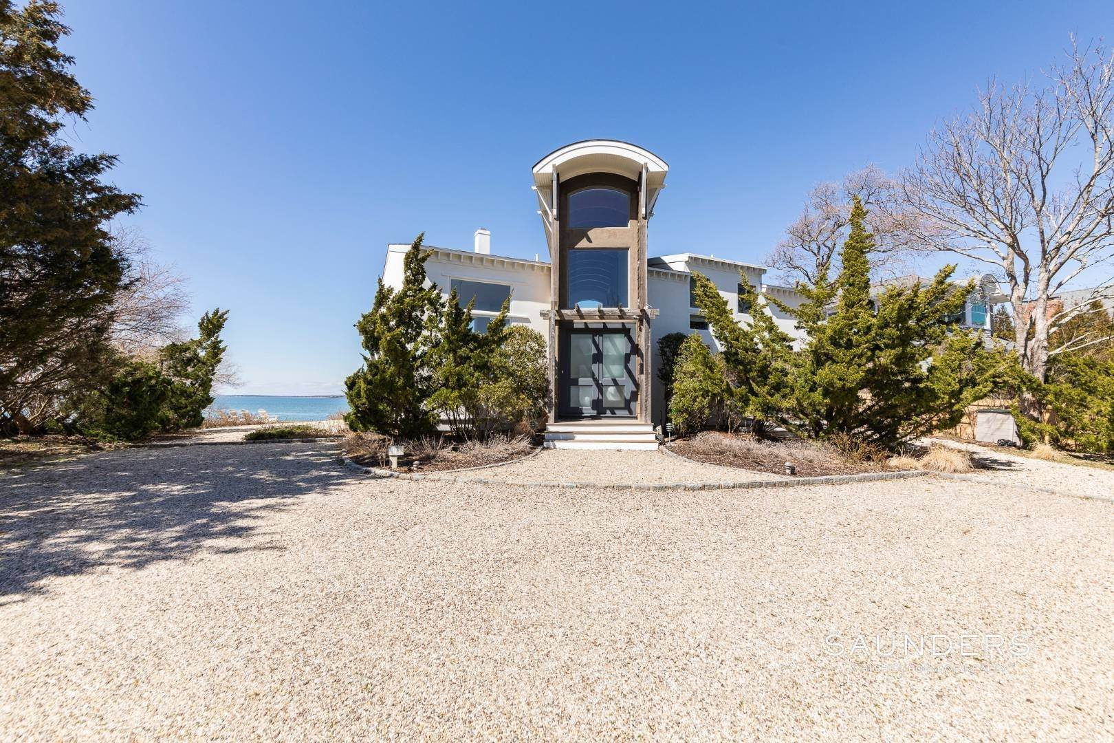 Single Family Homes at Walls Of Glass Looking Out To The Bay In Southampton 147 Edgemere Drive, Southampton, Southampton Town, NY 11968
