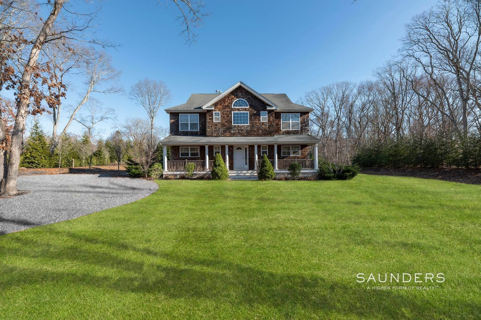 Single Family Homes for Sale at Pristine Southampton Traditional Room For Pool 56 Sandy Hollow Road, Southampton, Southampton Town, NY 11968