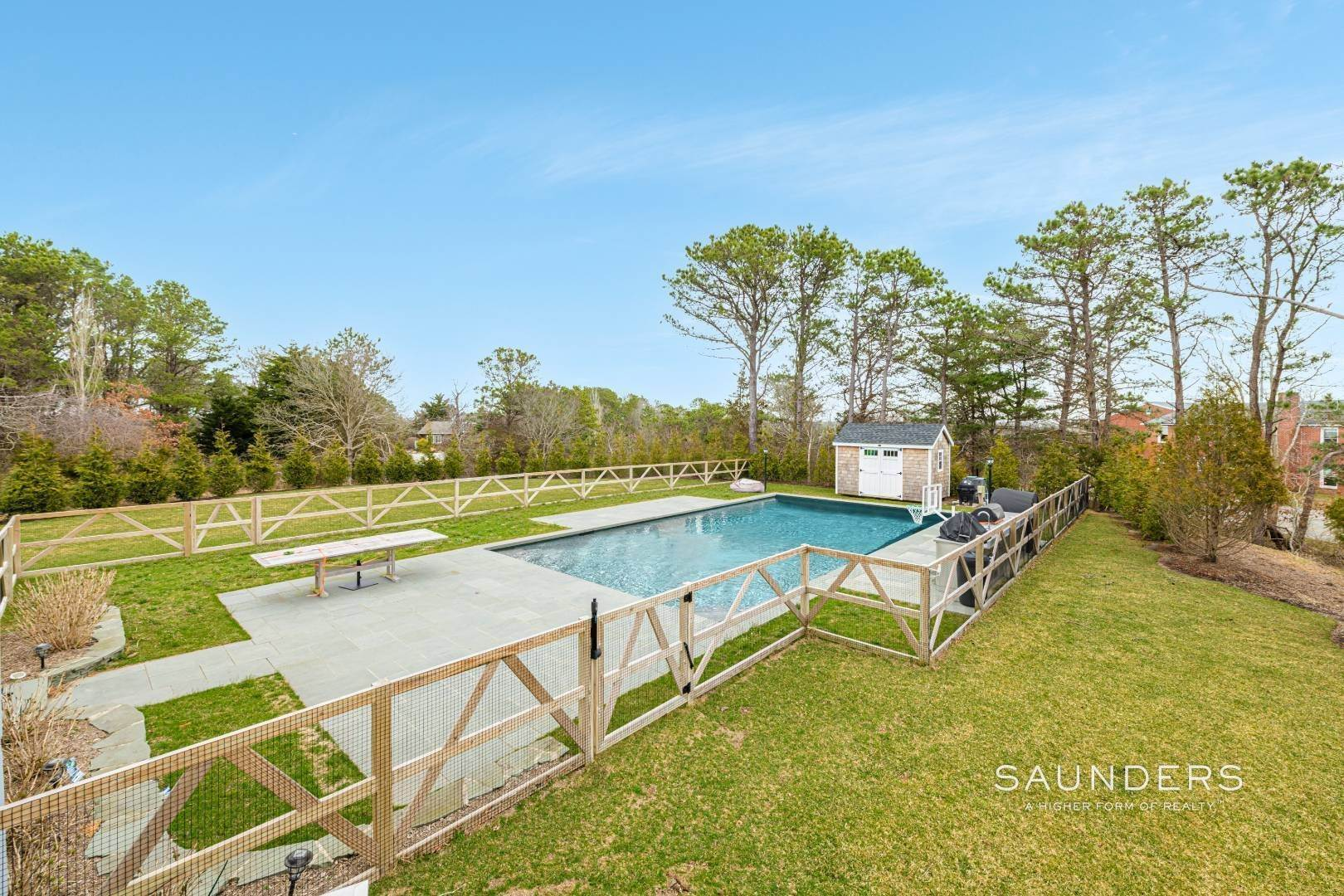 5. Single Family Homes for Sale at Beautiful Southampton Renovation With Pool And Outdoor Kitchen 80 Blackwatch Court, Southampton, Southampton Town, NY 11968