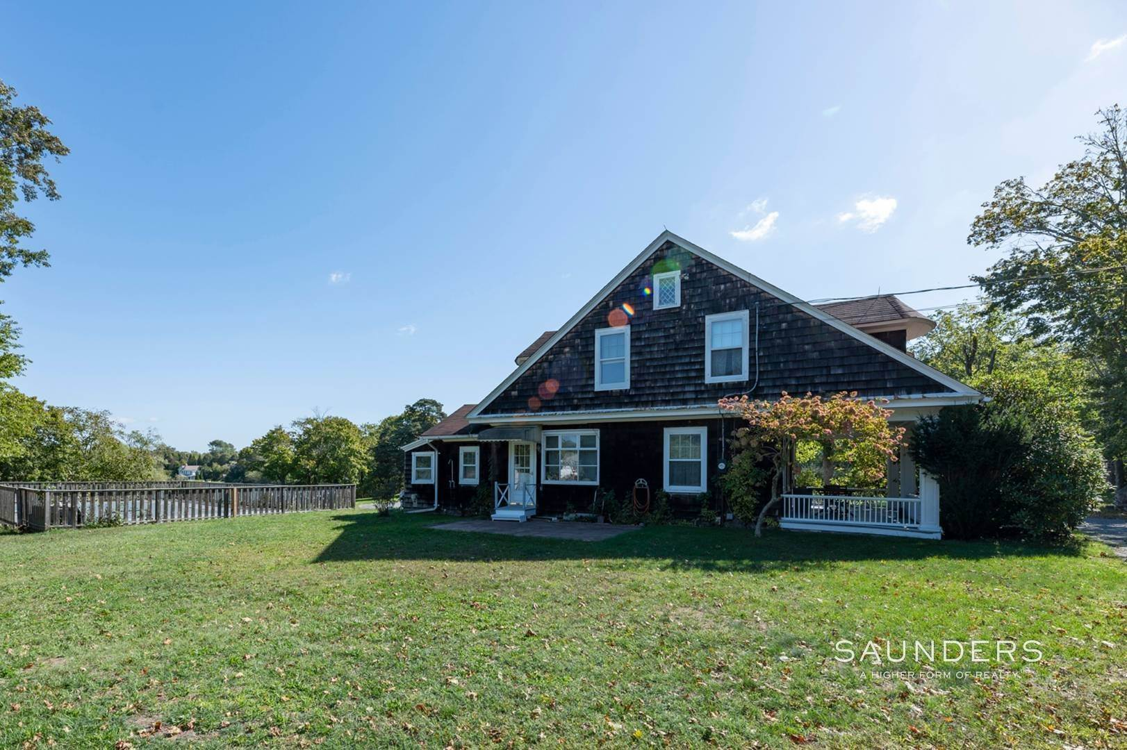 6. Single Family Homes for Sale at Historic Waterfront Water Mill Compound 15 & 17 Old Country Road, Water Mill, Southampton Town, NY 11976