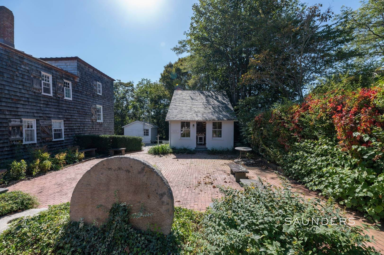 26. Single Family Homes for Sale at Historic Waterfront Water Mill Compound 15 & 17 Old Country Road, Water Mill, Southampton Town, NY 11976