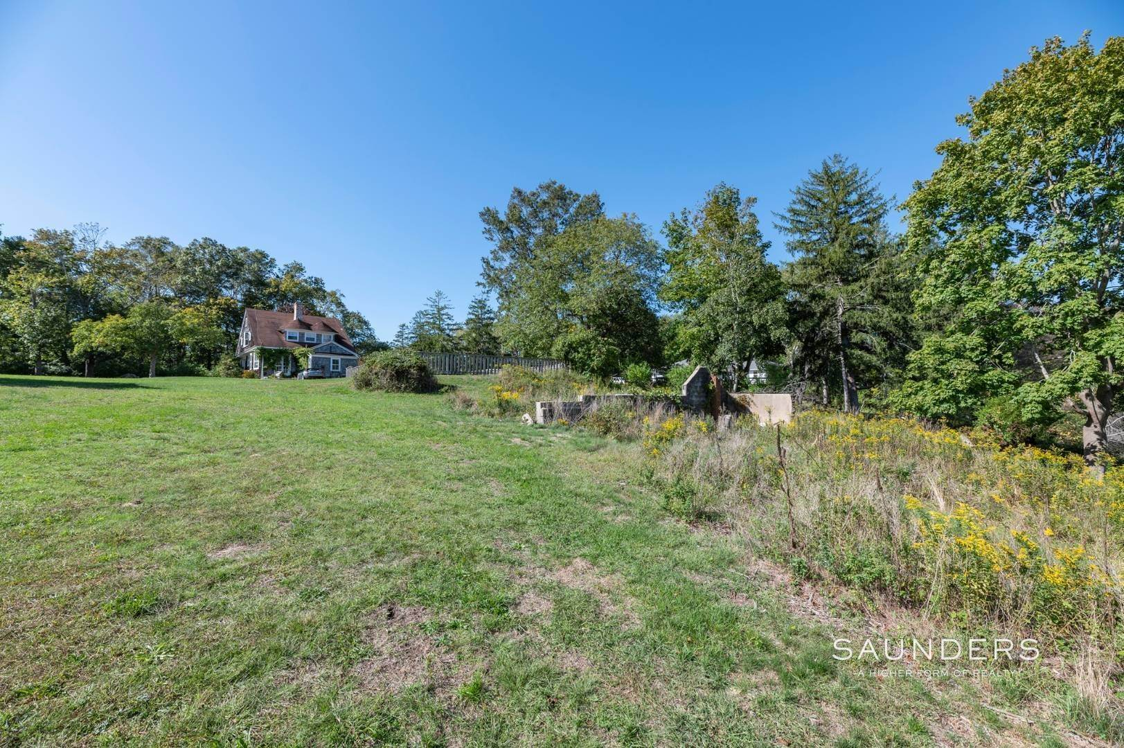 17. Single Family Homes for Sale at Historic Waterfront Water Mill Compound 15 & 17 Old Country Road, Water Mill, Southampton Town, NY 11976