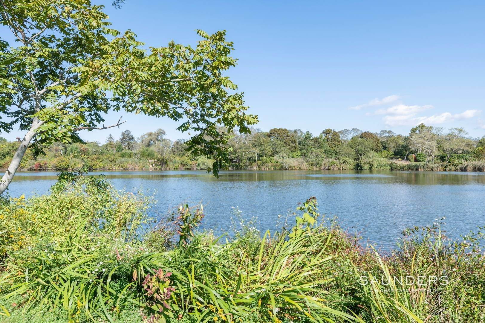 15. Single Family Homes for Sale at Historic Waterfront Water Mill Compound 15 & 17 Old Country Road, Water Mill, Southampton Town, NY 11976