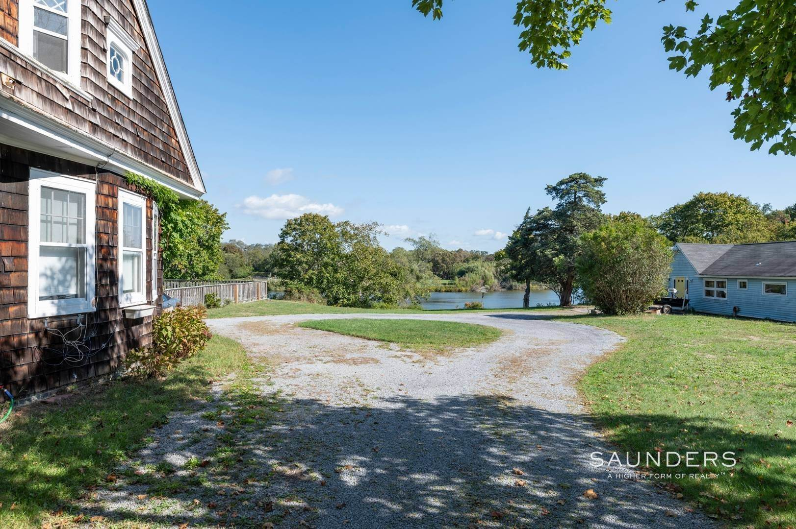 8. Single Family Homes for Sale at Historic Waterfront Water Mill Compound 15 & 17 Old Country Road, Water Mill, Southampton Town, NY 11976