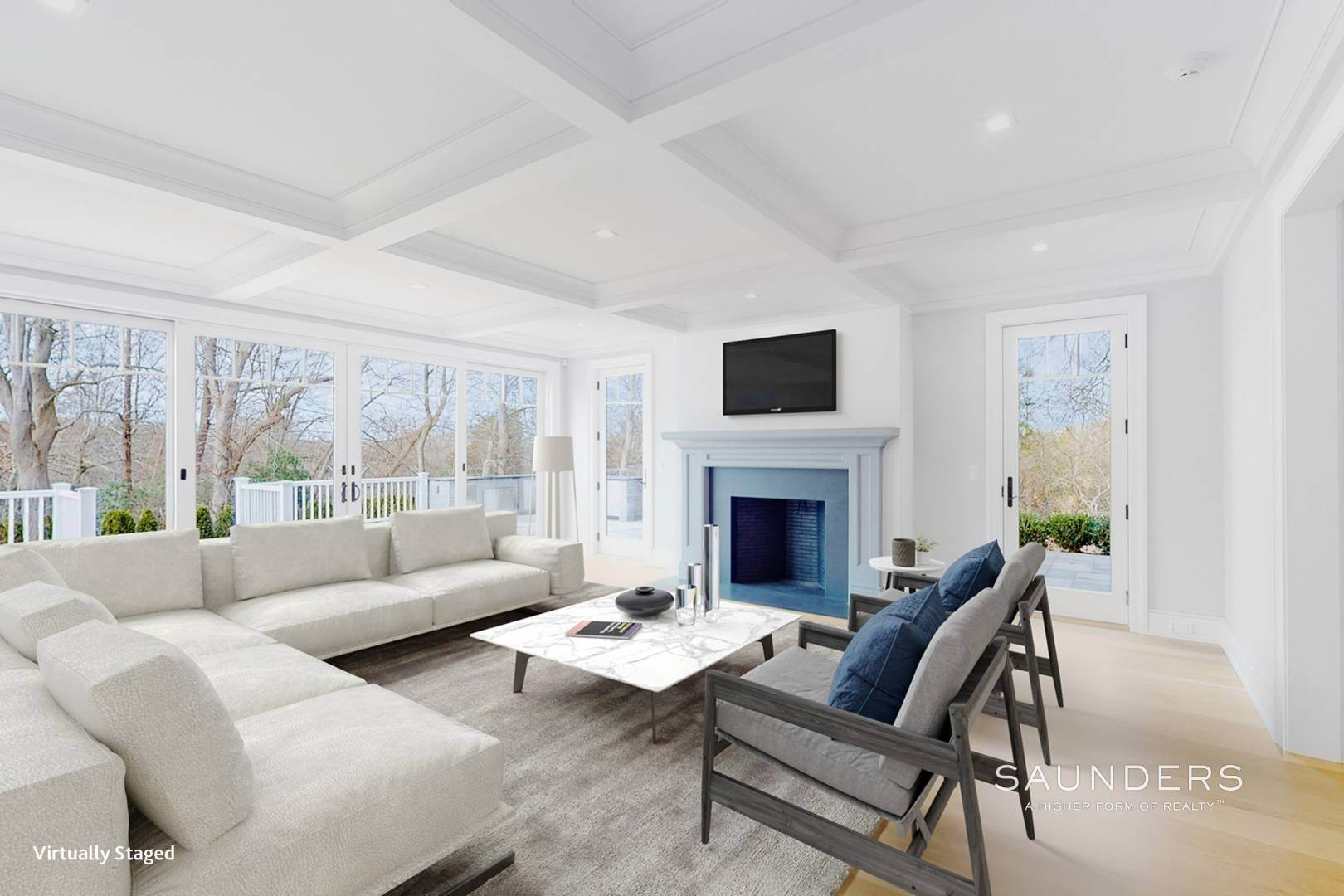 4. Single Family Homes for Sale at Luxury New Construction By The Bay In Amagansett 57 Broadview Road, Amagansett, East Hampton Town, NY 11930