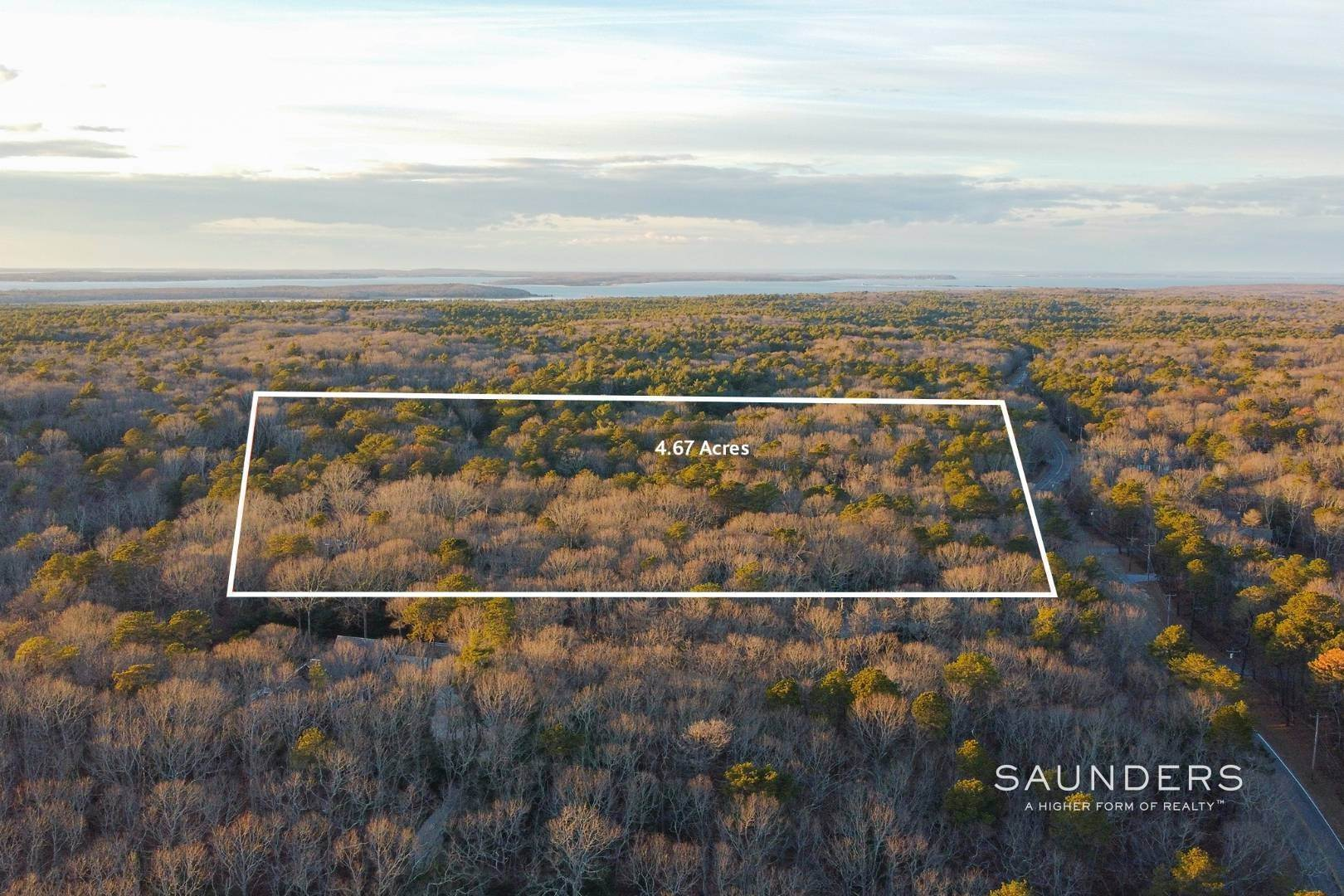 Land for Sale at East Hampton Village Fringe Prime Building Lot 43 Old Northwest Road, East Hampton, East Hampton Town, NY 11937
