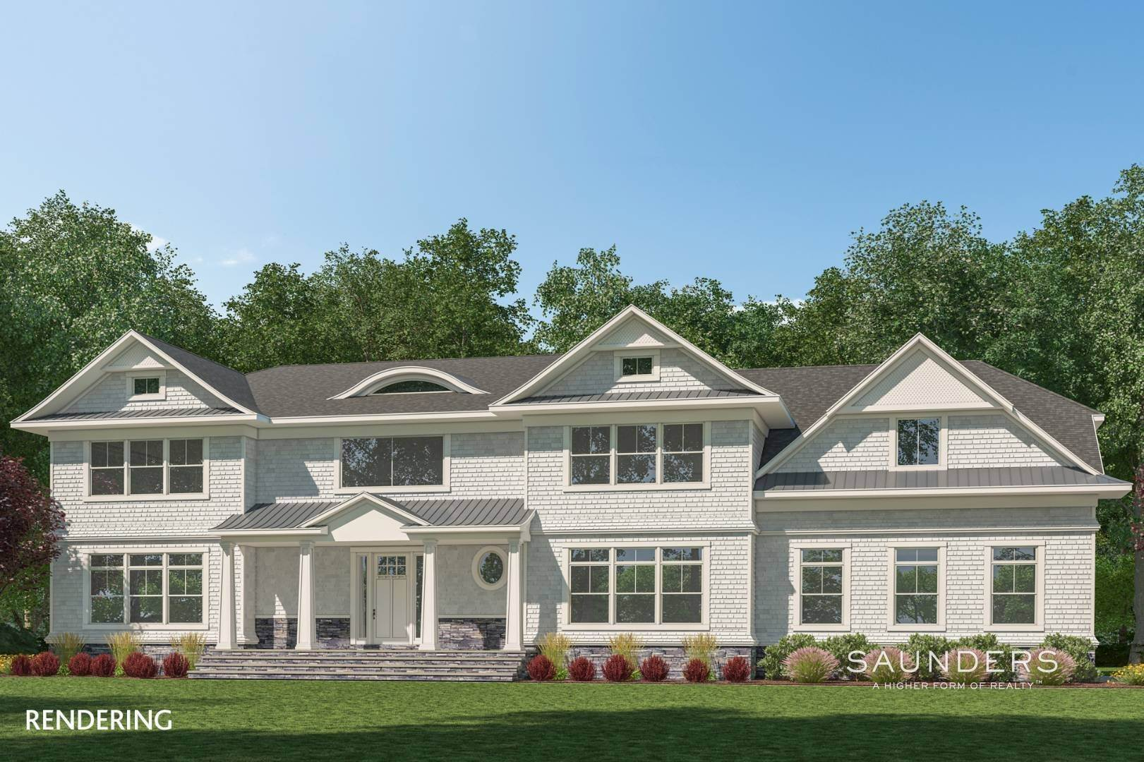 Single Family Homes for Sale at New Construction In Sagaponack 9 Forest Crossing, Sagaponack, Southampton Town, NY 11962
