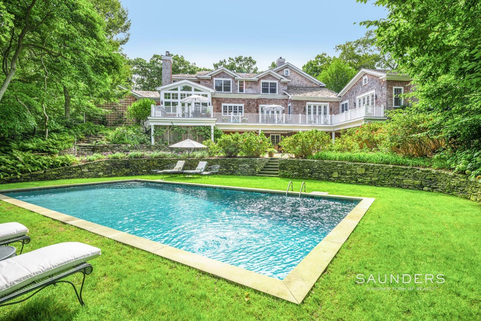 Single Family Homes at Amagansett Bell Estate Sanctuary 6 Catalpa Place, Amagansett, East Hampton Town, NY 11937