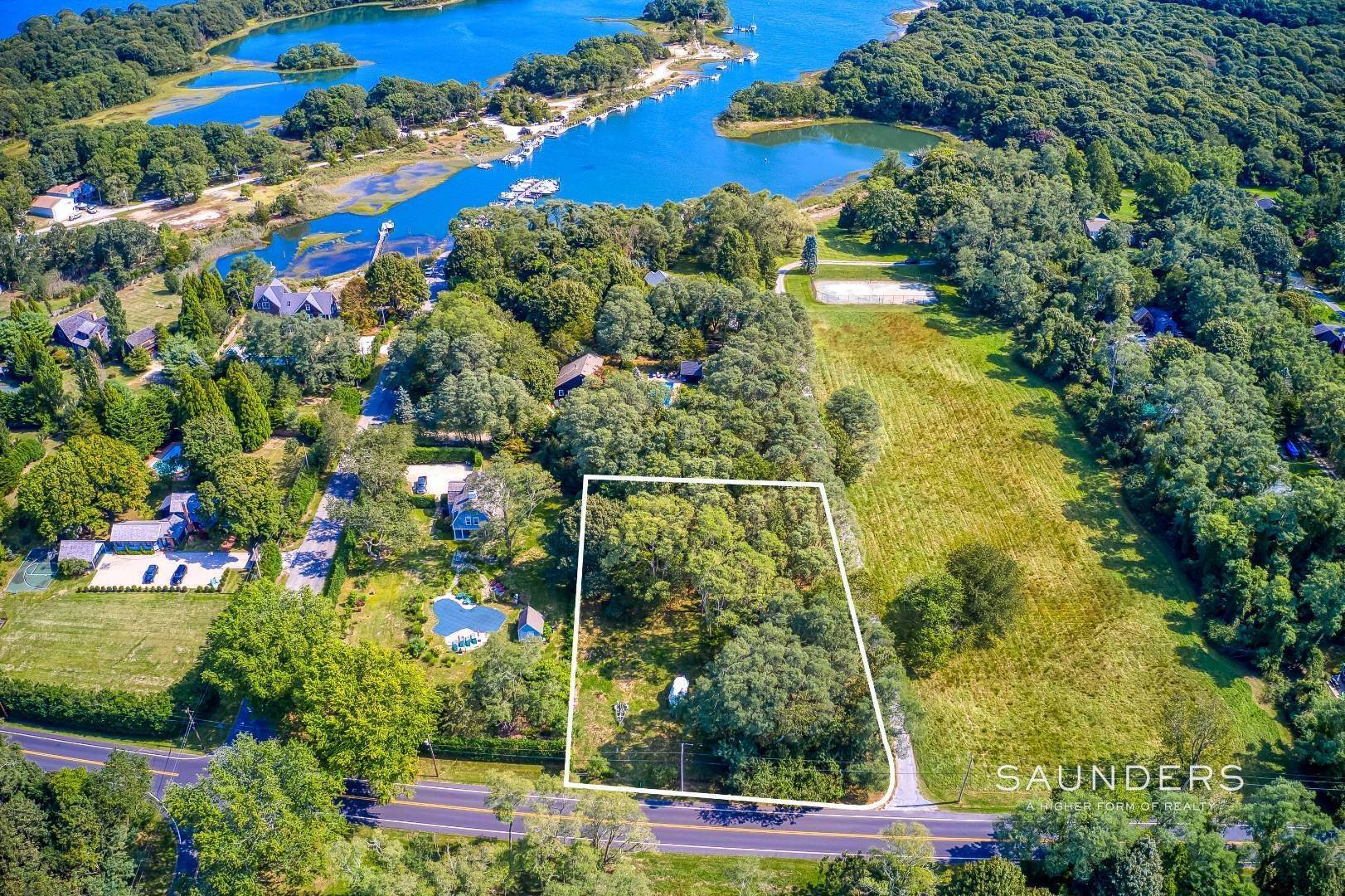 Land for Sale at Shelter Island Close To Boating Acreage 3 South Cartwright Road, Shelter Island, NY 11964