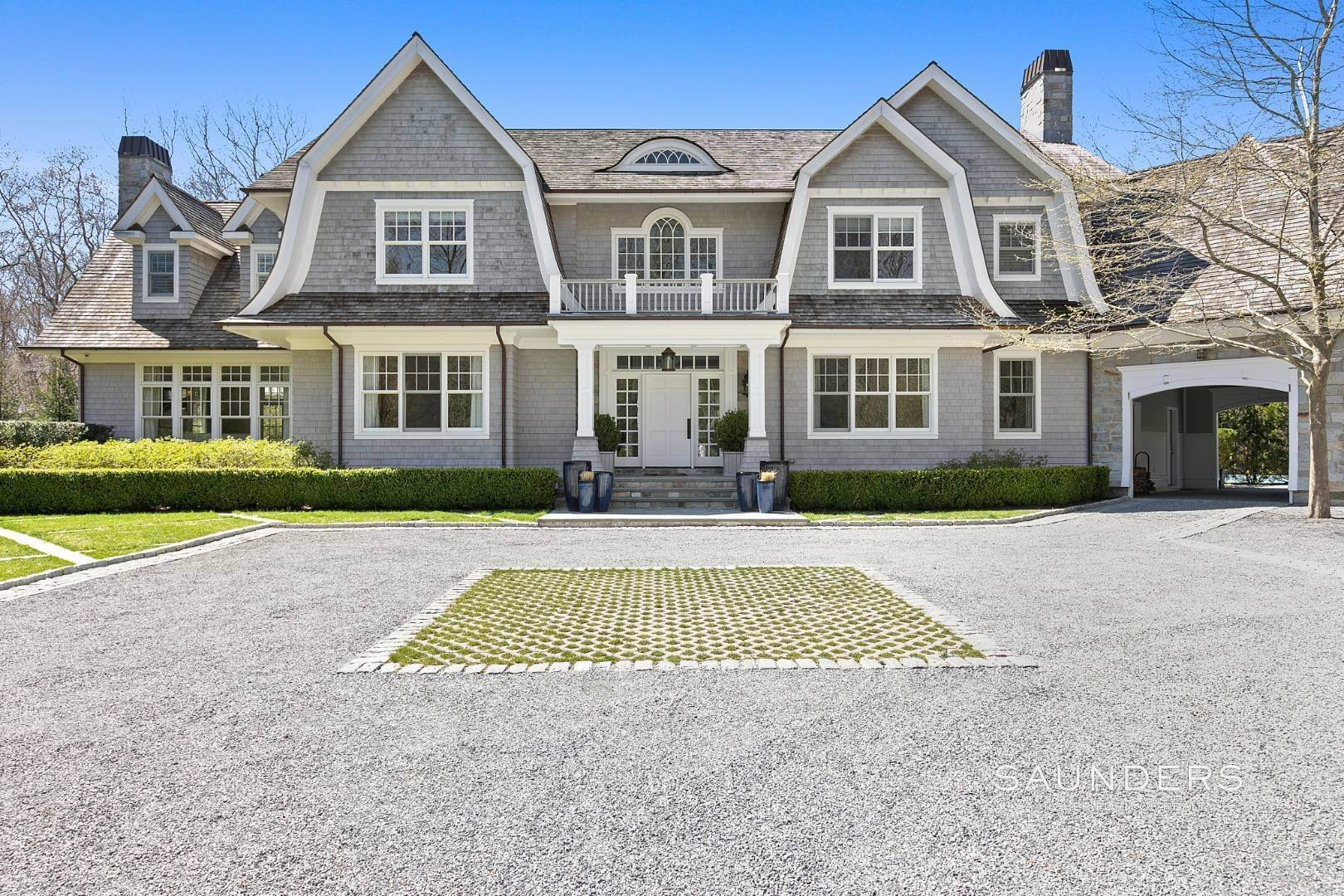 Single Family Homes for Sale at Classic Sagaponack Elegance With Pool And Tennis Sagaponack, Southampton Town, NY 11962