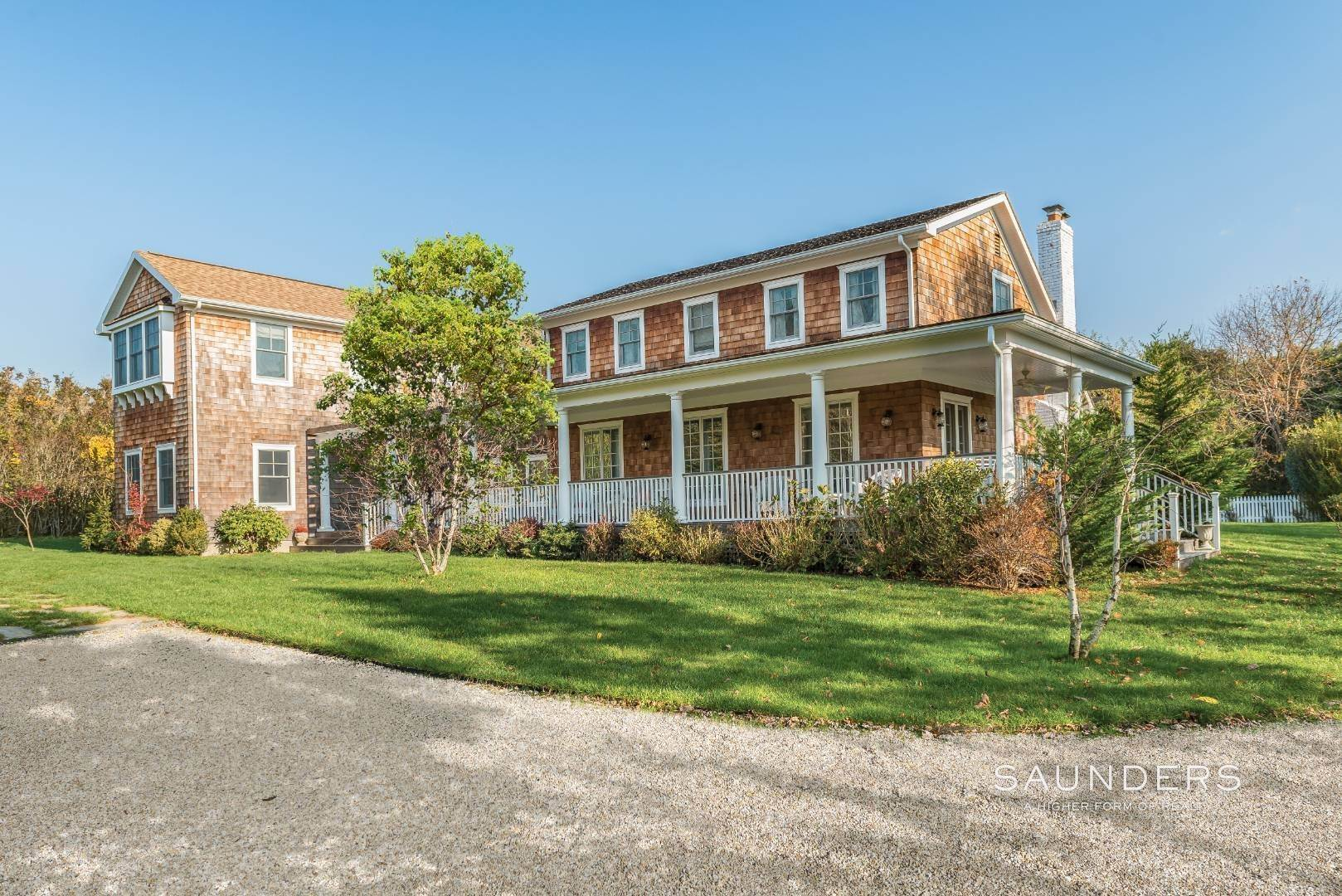 Single Family Homes for Sale at It's Better In Bridgehampton 441 Lumber Ln, Bridgehampton, Southampton Town, NY 11932