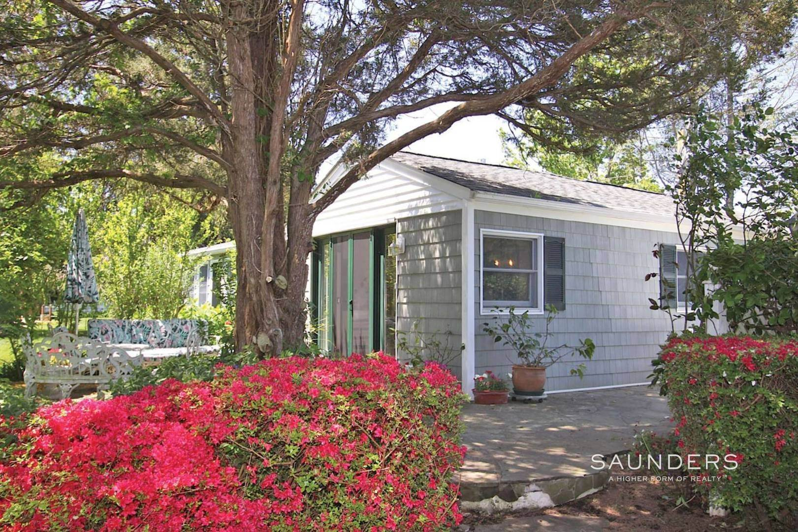 Single Family Homes for Sale at The Enchanted Cottage 7 Osceola Lane, Southampton, Southampton Town, NY 11968