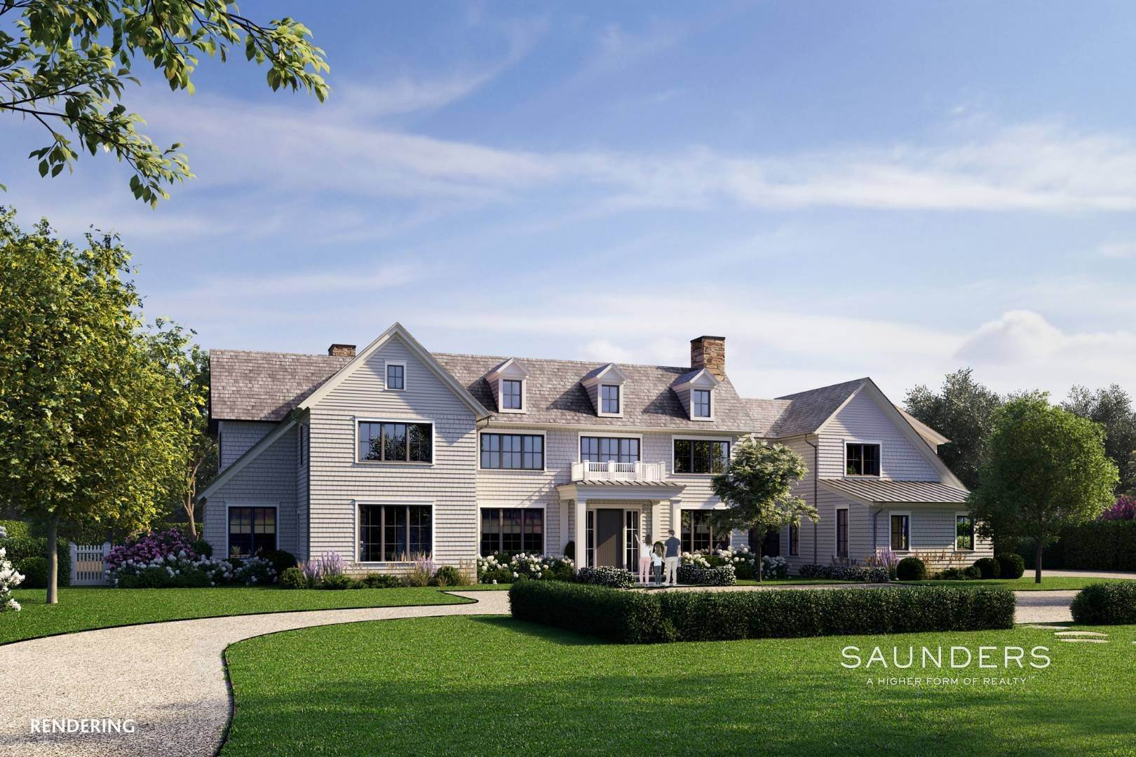 Single Family Homes for Sale at Spectacular And New Private Estate By Michael Davis 102 Highland Terrace, Bridgehampton, Southampton Town, NY 11968