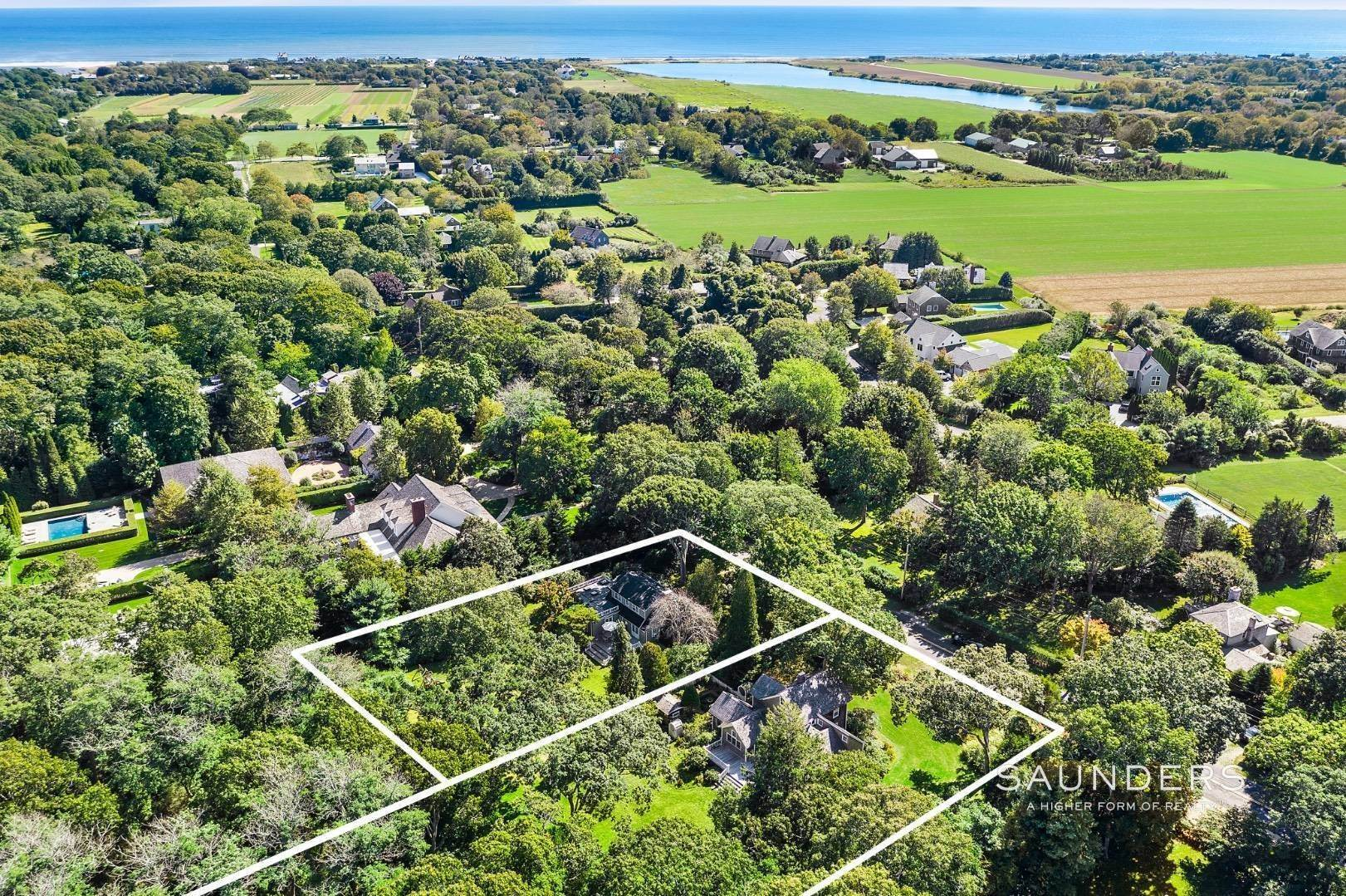 Single Family Homes for Sale at Sayres Path 3 Acre Opportunity 129 & 133 Sayres Path, Wainscott, East Hampton Town, NY 11975