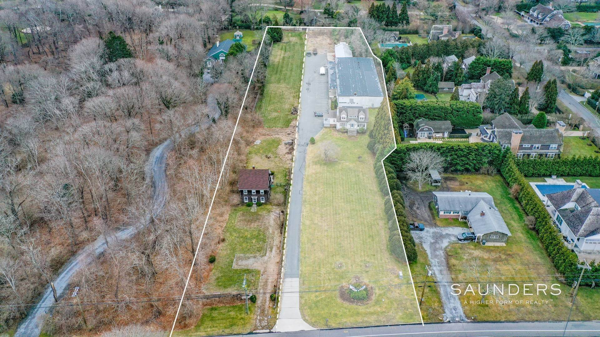 Commercial for Sale at Southampton Village Commercial/Development Opportunity 550 & 554 Hill Street, Southampton, Southampton Town, NY 11968