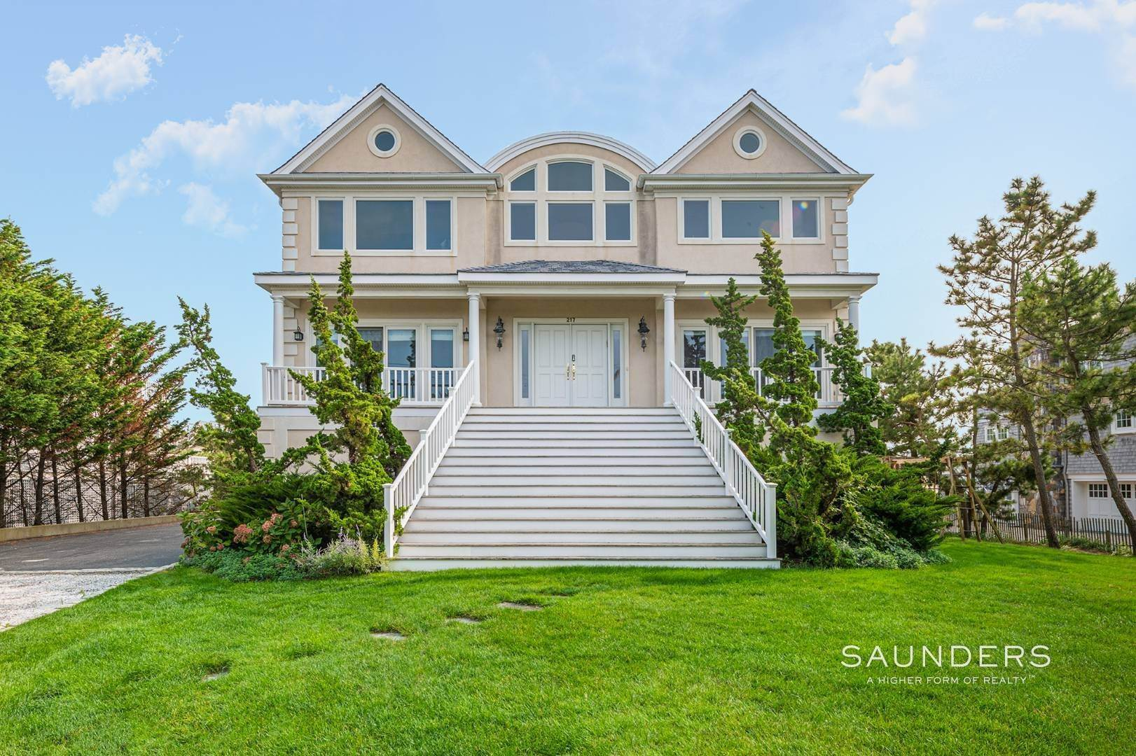 Single Family Homes at Pristine Oceanfront New To The Rental Market! 217 Dune Road, Westhampton Beach Village, Southampton Town, NY 11978