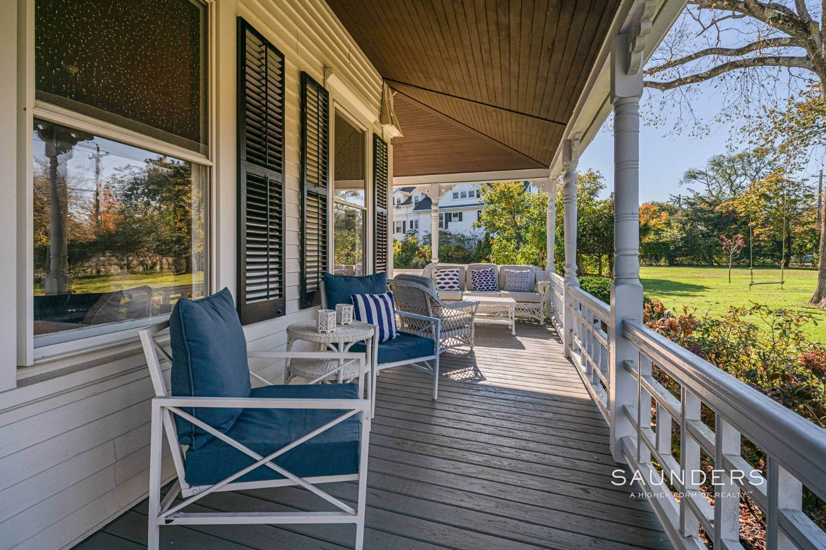 2. Single Family Homes for Sale at Historic Victorian On Quogue Street 81 Quogue Street, Quogue Village, Southampton Town, NY 11959